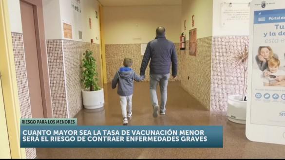 El 5% de los niños no está vacunado por decisión de sus padres