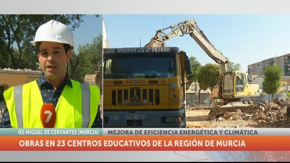Arreglan y remodelan 23 colegios de la Región durante el verano