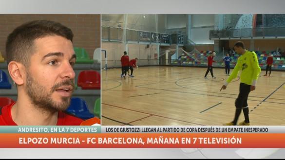 Una semana complicada para ElPozo: juega ante el Barça y el Inter