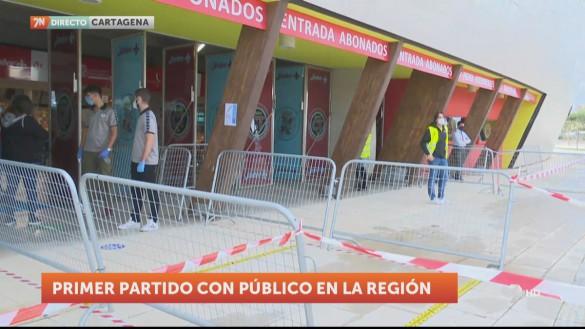 El público vuelve este fin de semana a las gradas de los estadios de la Región