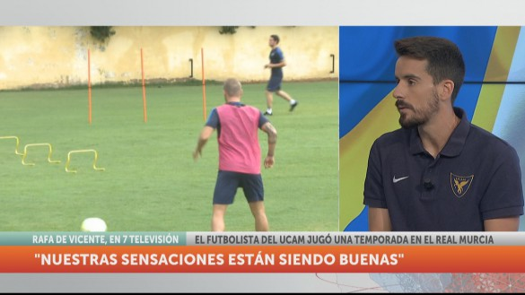 """Rafa de Vicente: """"La Condomina tiene una esencia diferente"""""""