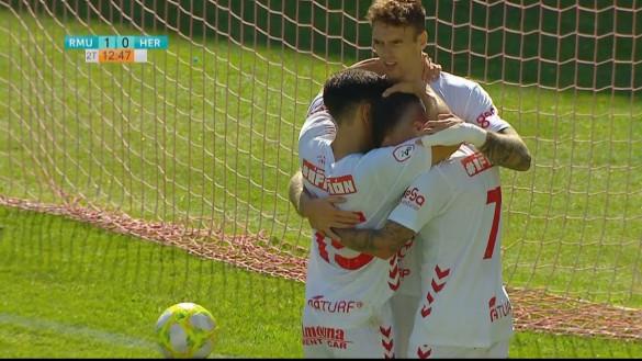 Otra victoria ilusionante del Real Murcia (2-1)