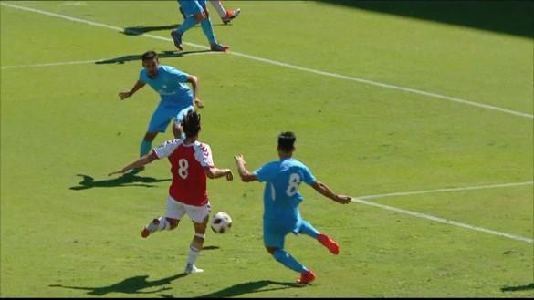 El Real Murcia sufre para marcar y gana al Ibiza de penalti (1-0)