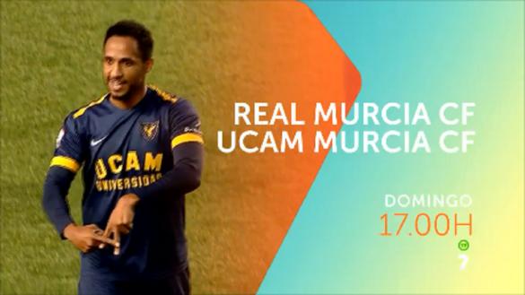 Real Murcia-UCAM, el derbi de la capital en directo en La7