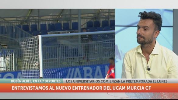 """Rubén Albés: """"No tengo la experiencia de otros entrenadores, pero son más cosas las que llevan un equipo a rendir"""""""
