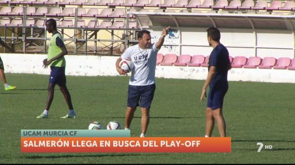 José María Salmerón regresa al UCAM Murcia CF