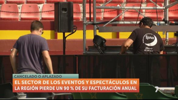 El sector de espectáculos y eventos pierde un 90% de su facturación este año