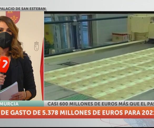 La Comunidad eleva el techo de gasto un 12,5%, hasta los 5.378 millones de euros