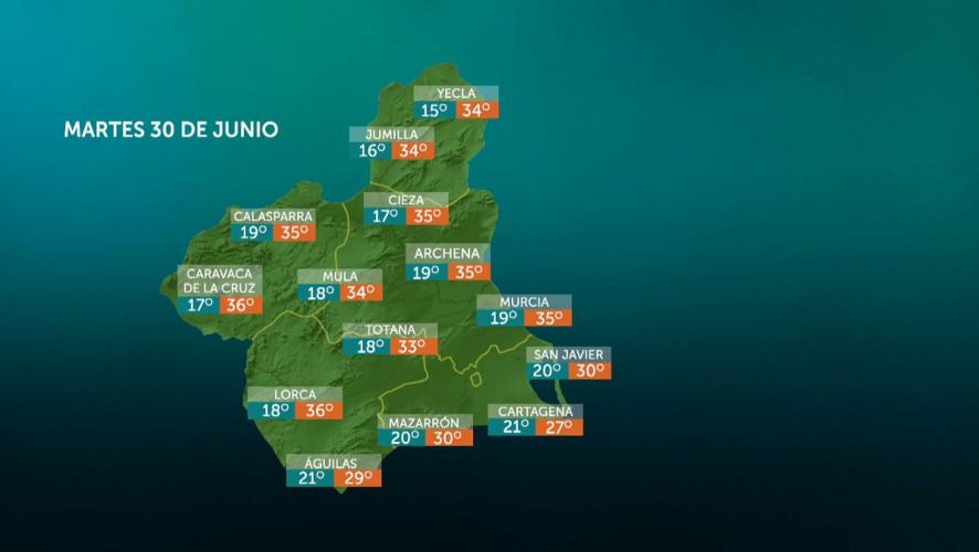 Temperaturas en ascenso en el litoral y con pocos cambios en el resto