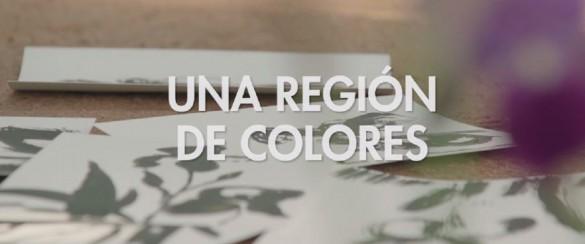 una region de colores