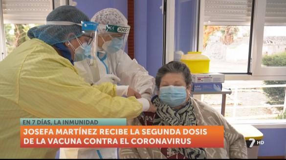 Comienzan a administrarse las segundas dosis de la vacuna de la Covid-19