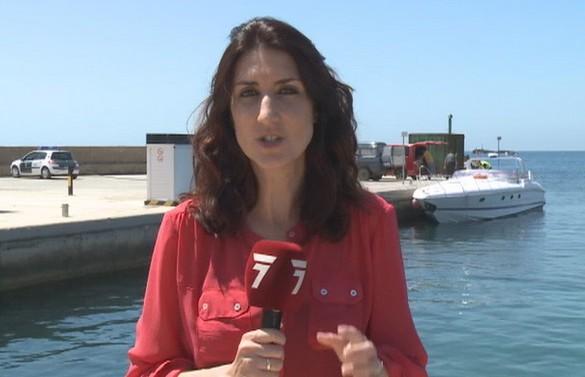 La Guardia Civil intercepta una embarcación con 1500 kilos de hachís en Cabo de Palos
