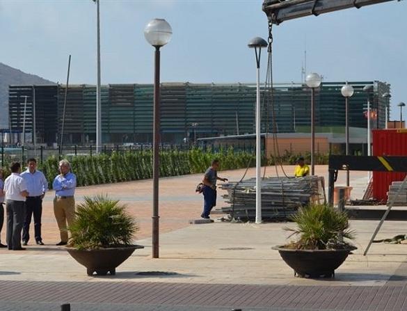La Autoridad Portuaria finaliza las obras de remodelación del Muelle Alfonso XII