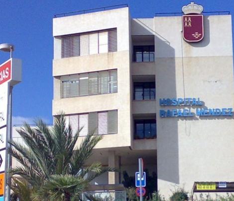 Un hombre, ingresado grave en el Hospital Rafael Méndez de Lorca por un golpe de calor