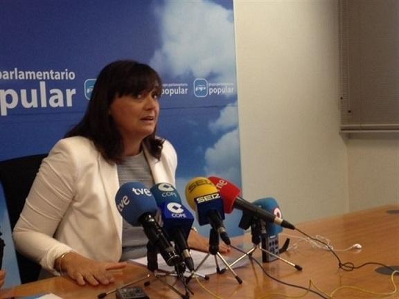 Isabel María Soler sustituye a Violante Tomás como viceportavoz del PP en la Asamblea