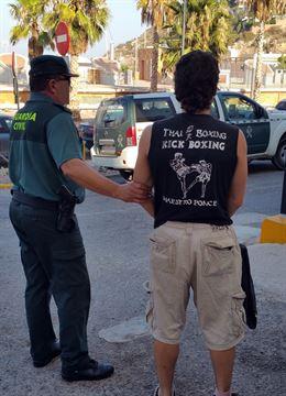 Detenido un individuo en Puerto Lumbreras relacionado con varios atracos y robos con arma blanca