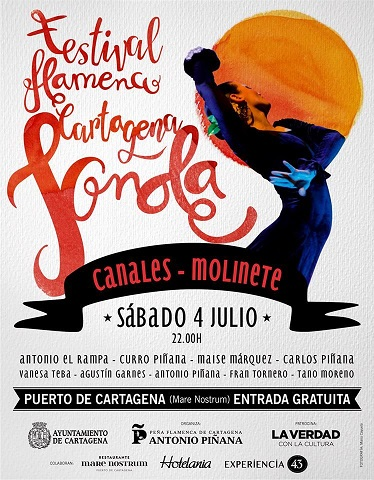 Nace este sábado en el puerto de Cartagena el Festival de Flamenco 'Jonda'