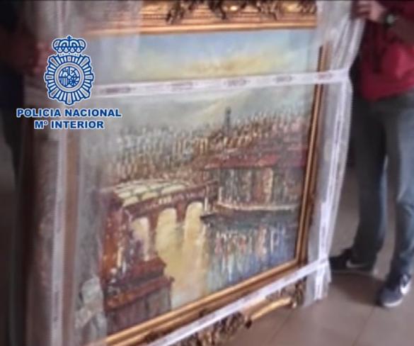La Policía Nacional recupera 25 obras de arte robadas en Ceutí