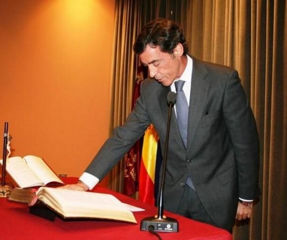 Antonio Sánchez-Solís, nuevo delegado del Gobierno en Murcia