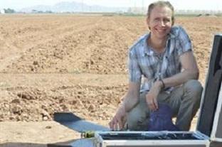 Investigadores de la UPCT y FutureWater introducen el uso de drones en aplicaciones agronómicas y ambientales
