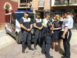 La Policía Local de Lorca detiene a tres sujetos como presuntos autores de un hurto en varios establecimientos