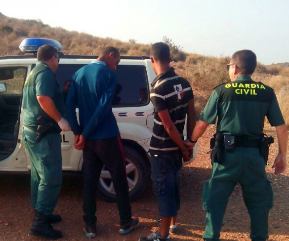 Se eleva a cinco el número de pateras interceptadas en aguas de Cartagena con 39 inmigrantes a bordo