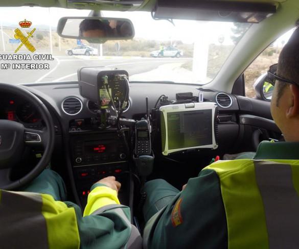 Tráfico inicia este lunes una campaña de control de velocidad en carreteras secundarias y vías urbanas