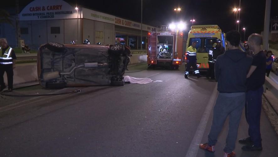 Un menor fallecido y un herido grave en un accidente de tráfico en Molina de Segura