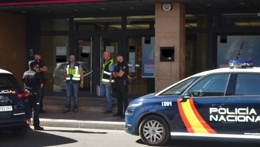 Detenido una hora después de atracar un banco en Molina