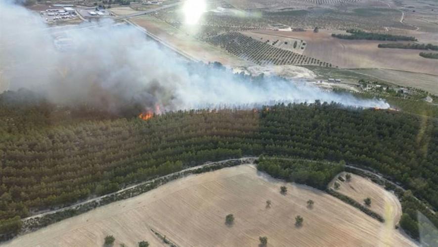 La sequía y la ola de calor triplican los incendios forestales provocados por rayos