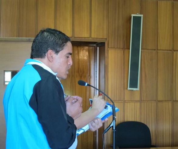 El acusado del 'crimen de los limoneros' niega haber estado en el lugar, pero los testigos le sitúan allí