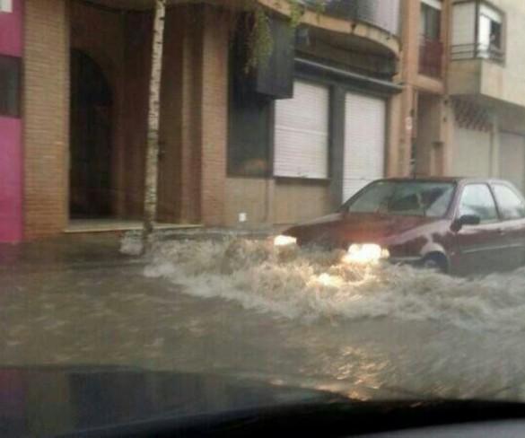 Lluvias y tormentas este jueves en Vega del Segura, Campo de Cartagena y Mazarrón