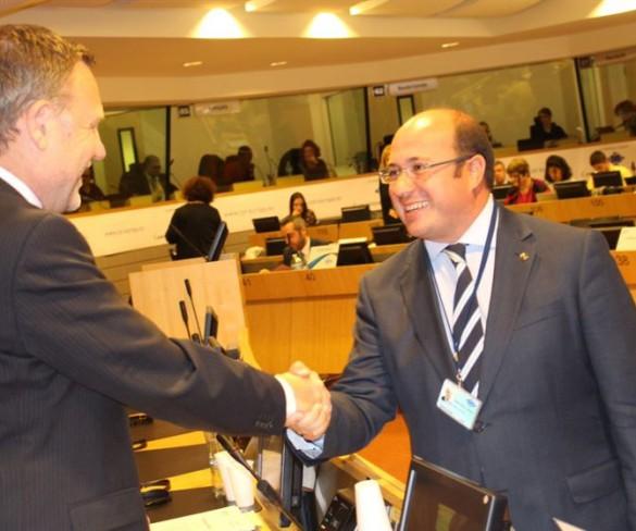 Pedro Antonio Sánchez, miembro de la Asociación Regional y Local Euromediterránea