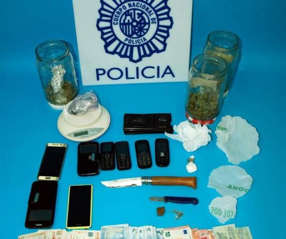 Cae un grupo criminal dedicado al tráfico de cocaína con cinco detenidos