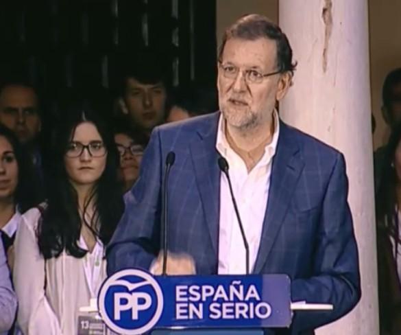 Rajoy valora como `muy positivo` el crecimiento económico de la Región