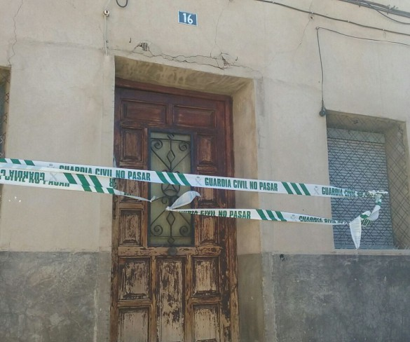 Un detenido por su relación con el cadáver hallado en una vivienda en Jumilla
