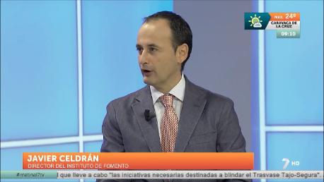 """Javier Celdrán: """"Queremos que el PIB industrial alcance el 20 % en 2020″"""