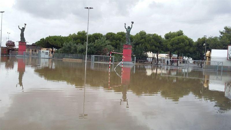 La lluvia y el viento provocan cien incidencias en la Región