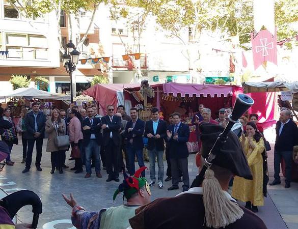 El mercado medieval de Lorca cuenta con 20 puestos más que en ediciones anteriores