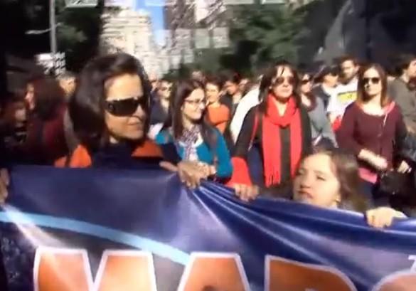 Unas 2.000 personas participan en Murcia en la manifestación de la Marcha Mundial por el Clima