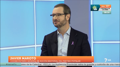 """Maroto: """"Rajoy da seguridad en la economía, en la unidad de España y en materia antiterrorista"""""""