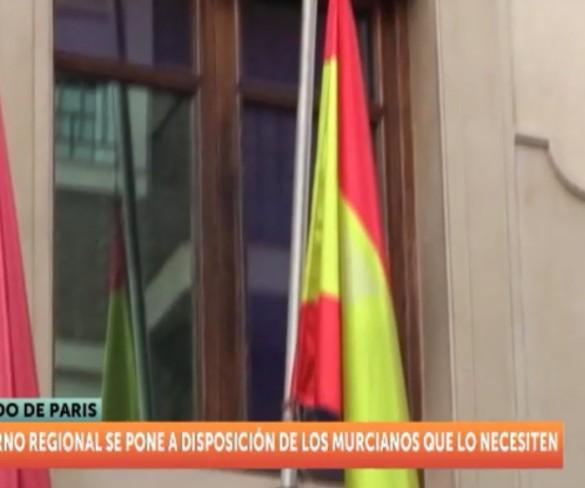 La Región de Murcia se vuelca con las víctimas de París