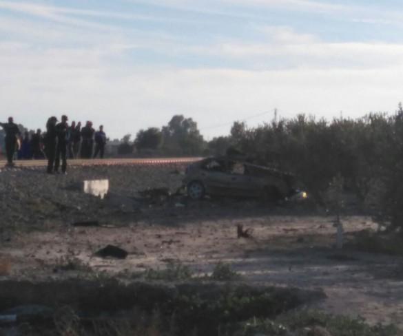 El conductor de un turismo muere al ser arrollado por el tren en un paso a nivel de Lorca