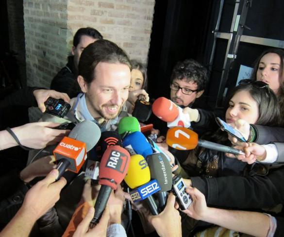 Pablo Iglesias asegura en Murcia que la posibilidad de ganar está muy cerca