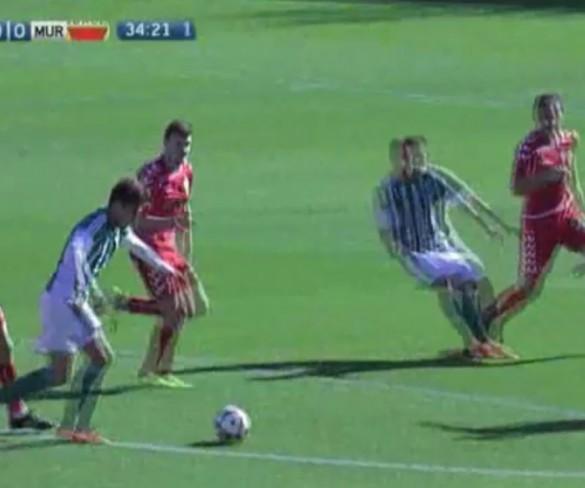 El Betis B pone en apuros al Real Murcia