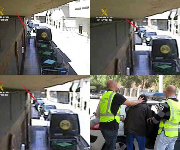 La Guardia Civil esclarece más de 40 delitos de robo en vehículos en Santomera