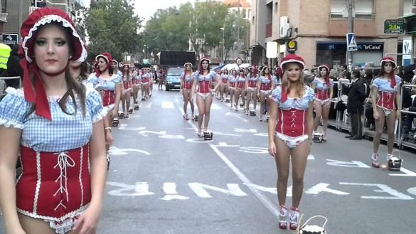 El carnaval de Cabezo de Torres se alarga dos fines de semana con 20 desfiles, espectáculos y chirigotas