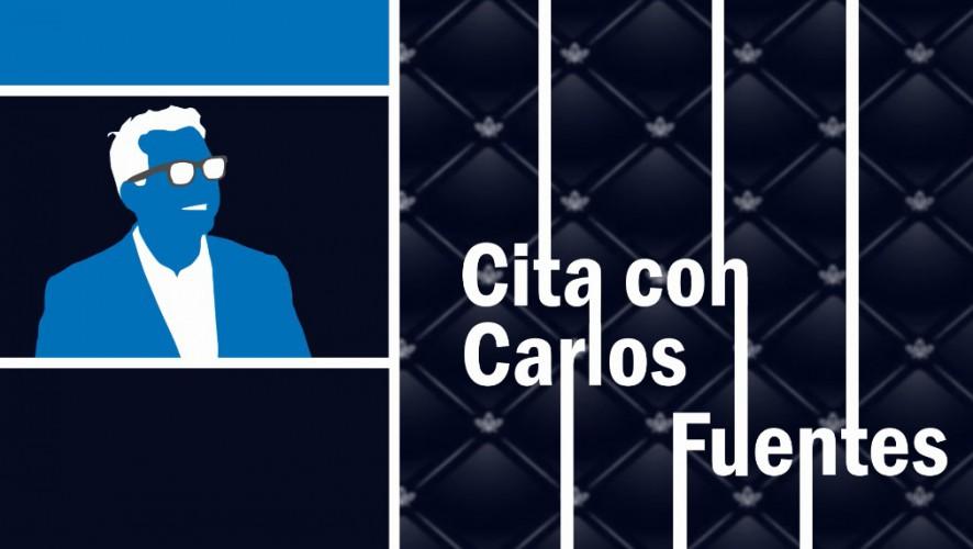 Cita con Carlos Fuentes