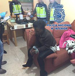 Policía Nacional rescata a una mujer que acababa de llegar a España para ser explotada sexualmente