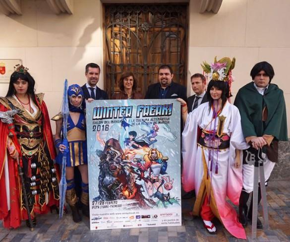 El salón del manga y la cultura alternativa de la Región 'Winter Freak' se celebra este fin de semana en Torre Pacheco